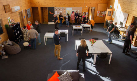 West Coast Study Hub built at Zeehan's old scout hall